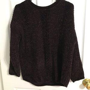 Plum purple sweater